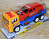 3088-3 Трейлер + пикап Transcend Future Sorint Truck 38*17см