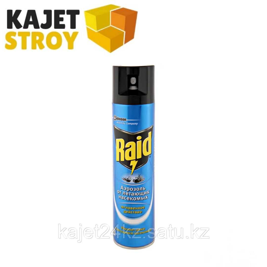 Raid аэрозоль от комаров и мух, 300 мл