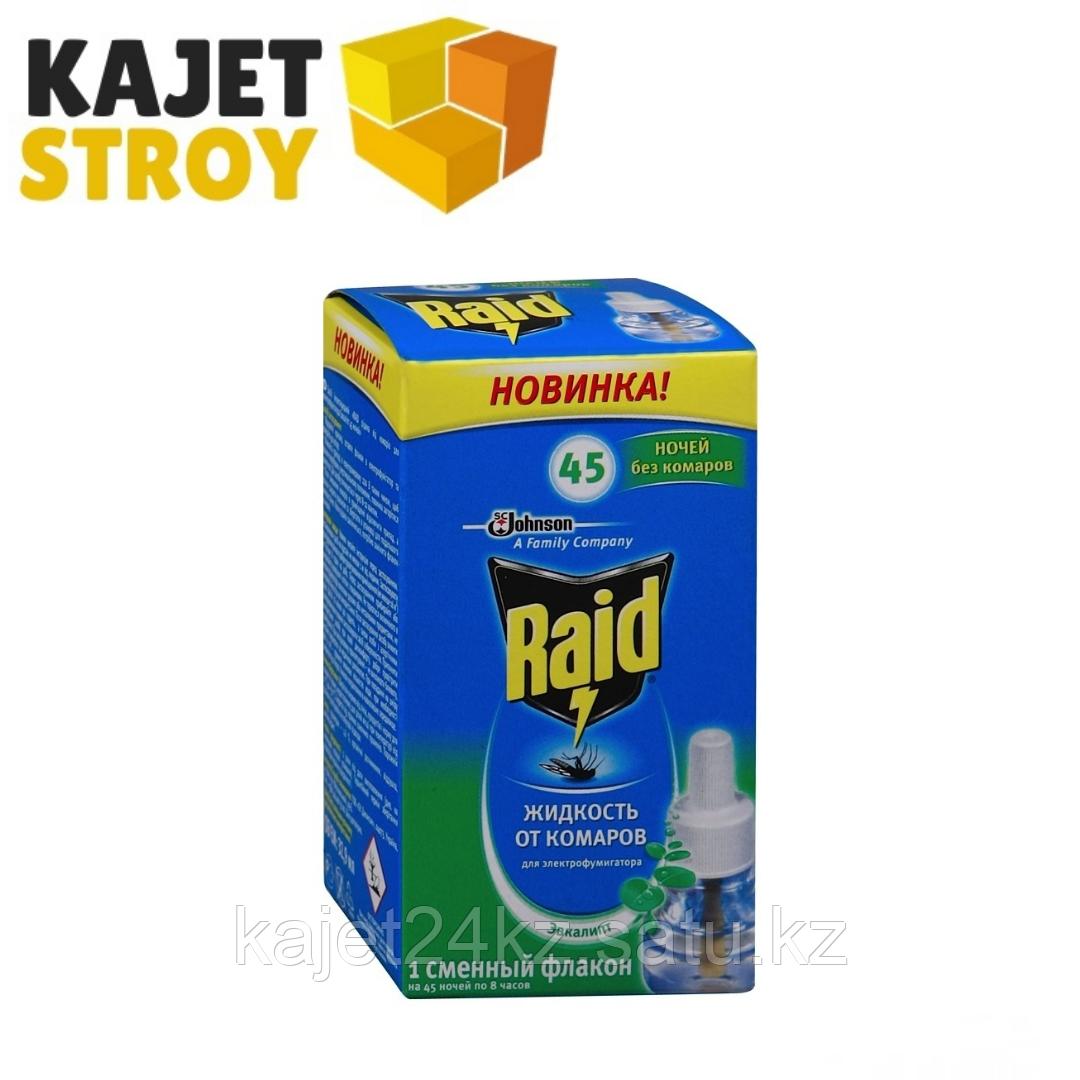 Raid жидкость для фумигатора Эвкалипт 45 ночей
