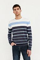 Джемпер мужской Finn Flare, цвет темно-синий, размер XL