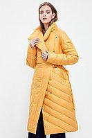 Пальто женское Finn Flare, цвет желтый, размер S