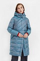 Пальто женское Finn Flare, цвет изумрудный, размер 2XL
