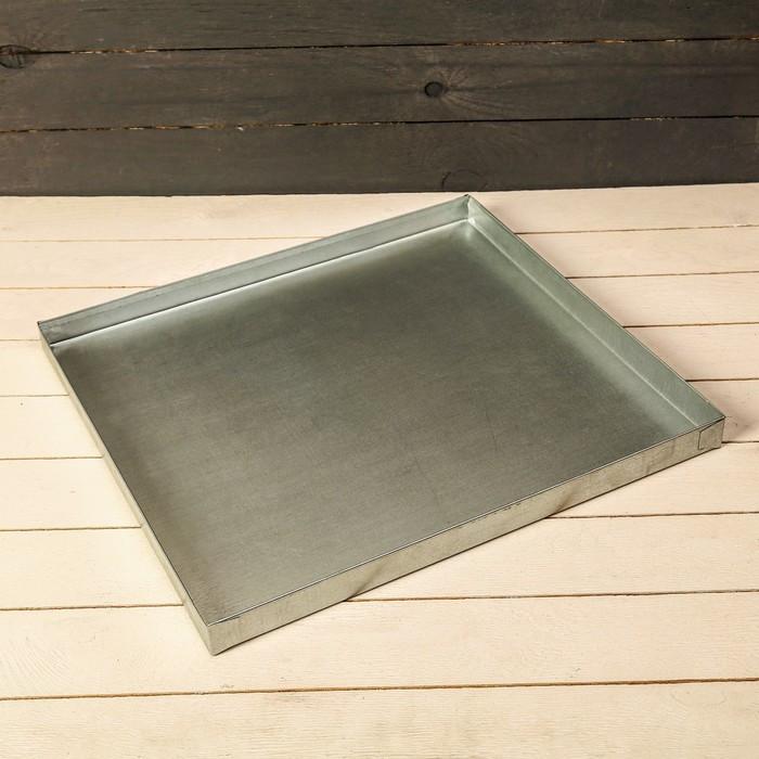Поддон 44 × 40 × 2 см, металл