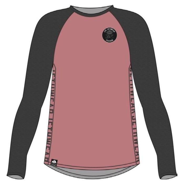 Лонгслив Jethwear One, размер M, розовый, серый