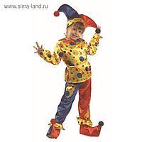 Карнавальный костюм «Петрушка», размер 38