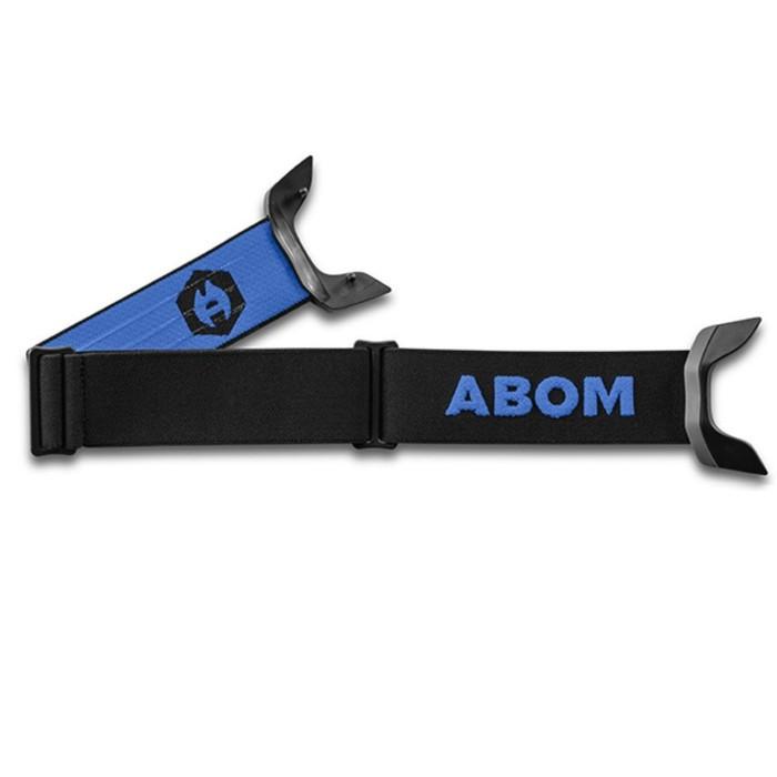 Ремень Abom ONE, черный, синий