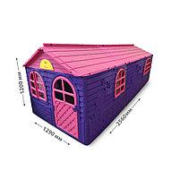 Домик детский (256х129), Doloni розовый/фиолетовый