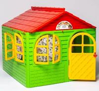 Домик детский (129*129), Doloni зеленый/красный