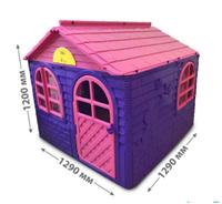 Домик детский (129*129), Doloni розовый/фиолетовый