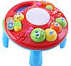 TOT KIDS Развивающий столик 2в1 ГУСЕНИЦА (свет,звук) 23*23*18 см