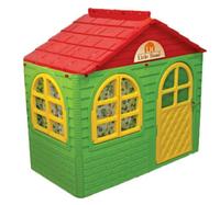 Домик детский (69*129), Doloni зеленый/красный