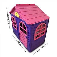 Домик детский (69*129), Doloni розовый/фиолетовый