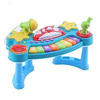 TOT KIDS Развивающий столик МУЗЫКАЛЬНОЕ ПИАНИНО (свет,звук) 37*19*23 см (в, фото 1