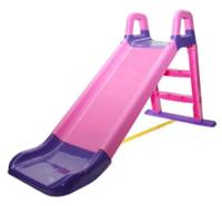 Горка детская Doloni, розово-фиолетовая