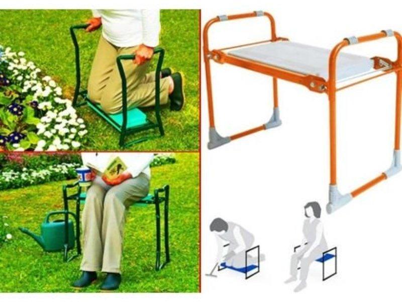 Складная садовая скамейка перевертыш Nika.