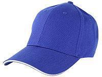 Бейсболки 5 панельные, 100% хлопок, синяя