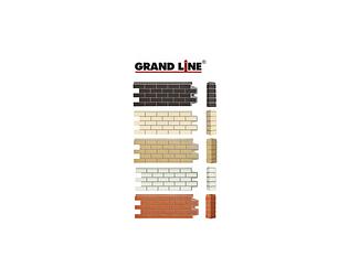 Фасадные панели Состаренный кирпич, серия ПРЕМИУМ Grand Line