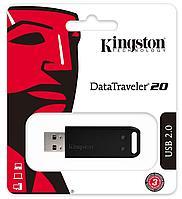 USB Флеш 64GB 2.0 Kingston DT20/64GB черный