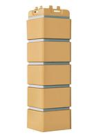 Угол наружный Горчичный, 120х410 мм Клинкерный кирпич Серия Премиум Grand Line