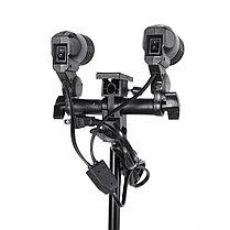 Cофтбоксы 60X90см комплект на стойках с двойными лампами 2Г/4Х50ватт, фото 3