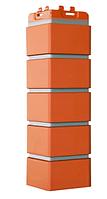 Угол наружный Коралловый, 120х410 мм Клинкерный кирпич Серия Премиум Grand Line