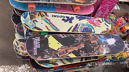Деревянный скейт