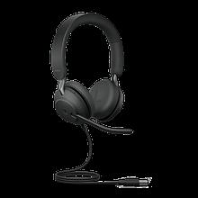 Jabra 24089-999-999 Гарнитура EVOLVE2 40, USB-A, MS Teams, Stereo