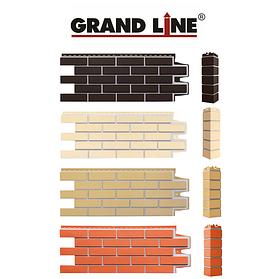 Фасадные панели Клинкерный кирпич, серия ПРЕМИУМ Grand Line