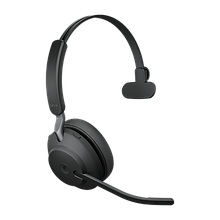 Jabra 26599-899-999 Гарнитура EVOLVE2 65, USB-A, MS Teams, Mono, Black