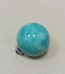 Шарик 2,5 см / бирюзовый (для браслетов СО) ЕВ21