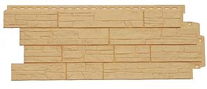 Фасадные панели Песочный 1110х418 мм Сланец серия Стандарт (моноцвет) Grand Line