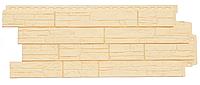 Фасадные панели Бежевая  1110х418 мм Сланец серия Стандарт (моноцвет) Grand Line