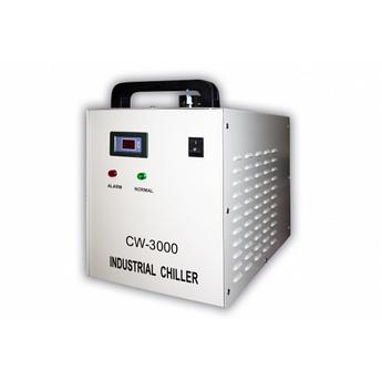 Чиллер CW 3000 предназначен для охлаждения ламп 40-80W  Мощность охлаждения, w/℃: 50  Тип охлаждения: Воздух