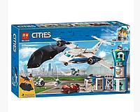 Конструктор Lari Cities 11210 Воздушная полиция: авиабаза (аналог Lego City 60210) 559 д.