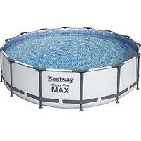 Каркасный бассейн Bestway 56950 (427х107 см) с картриджным фильтром, тентом и лестницей, фото 1