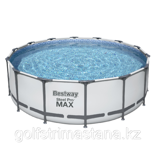 Каркасный бассейн Bestway 5612X (427х122 см) с картриджным фильтром, тентом и лестницей