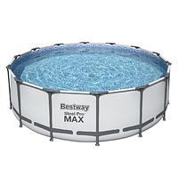 Каркасный бассейн Bestway 5612X (427х122 см) с картриджным фильтром, тентом и лестницей, фото 1