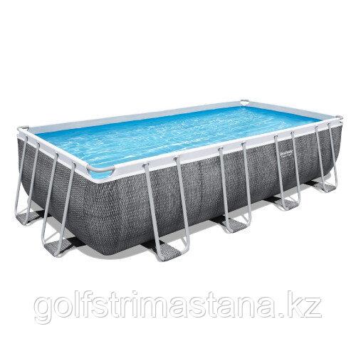 Каркасный бассейн Bestway 56998 (549х274х122 см) с картриджным фильтром, лестницей и защитным тентом