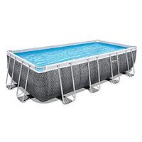 Каркасный бассейн Bestway 56998 (549х274х122 см) с картриджным фильтром, лестницей и защитным тентом, фото 1