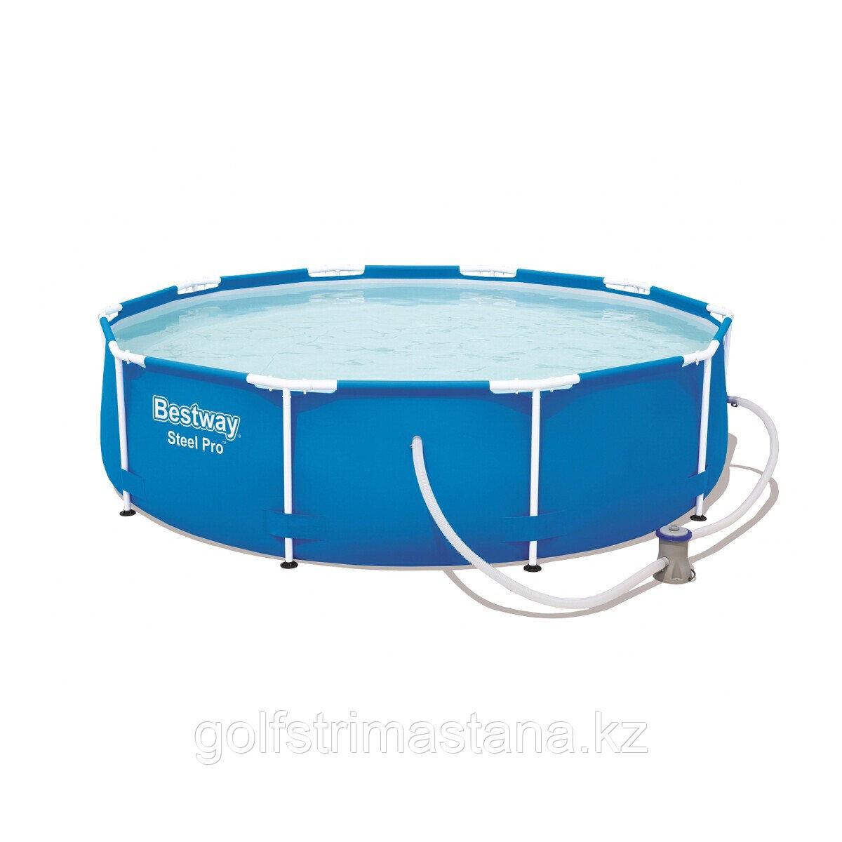 Каркасный бассейн Bestway 56679 (305х76 см) с картриджным фильтром