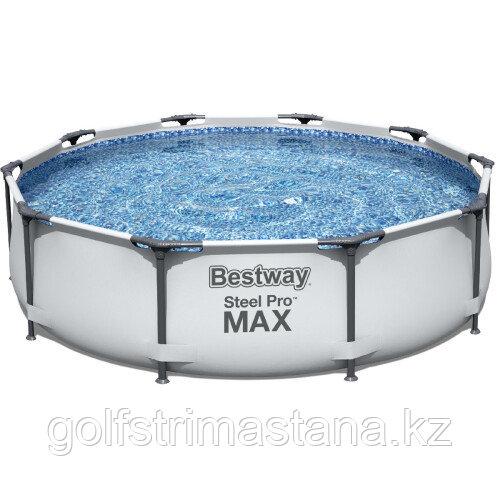 Каркасный бассейн Bestway 56408 (305х76 см) с картриджным фильтром
