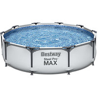 Каркасный бассейн Bestway 56408 (305х76 см) с картриджным фильтром, фото 1
