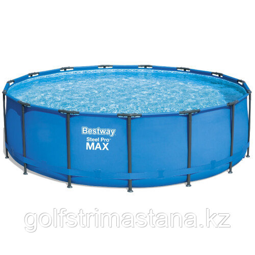 Каркасный круглый бассейн Bestway 56438 (457х122 см) с картриджным фильтром и лестницей