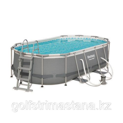 Каркасный бассейн Bestway 56620 (427х250х100 см) с картриджным фильтром и лестницей