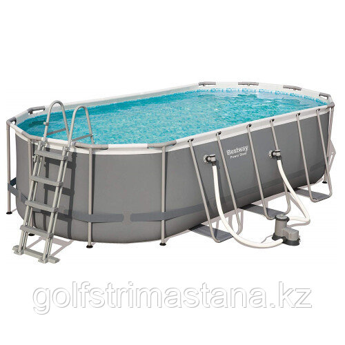 Каркасный бассейн Bestway 56710 (549х274х122 см) с картриджным фильтром, лестницей и защитным тентом