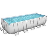 Каркасный бассейн Bestway 5612B (640х274х132 см) с песочным фильтром, лестницей и тентом, фото 1