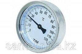 Термометр накладной с пружиной Дк63  120°С