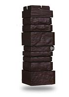 Угол наружный Коричневый 170х120 мм Сланец серия Стандарт (моноцвет) Grand Line