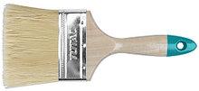 Кисть плоская 75мм, деревянная ручка TOTAL арт.THT84031