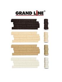 Фасадные панели Сланец, серия Стандарт (моноцвет) Grand Line